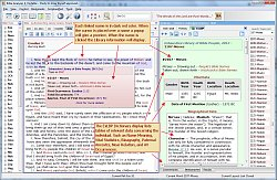 Bible Study Software, freeware, free download, Parallel Generator, Harmony, Dedicated Reference Panel