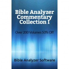 Bible Analyzer Commentary Collection I - 50% Discount
