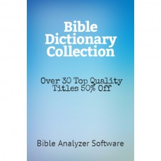 Bible Dictionary Collection - 50% Discount