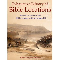 Exhaustive Library of Bible Locations