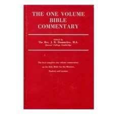 One Volume Commentary, Dummelow