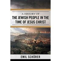 A History Of The Jewish People, Schurer
