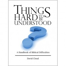 Things Hard To Be Understood, Cloud